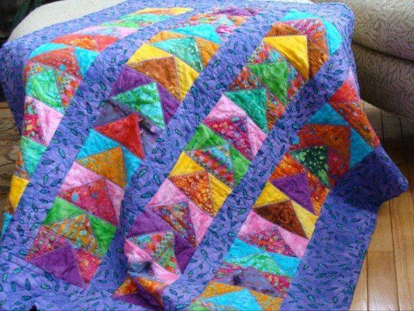 Come realizzare una coperta patchwork